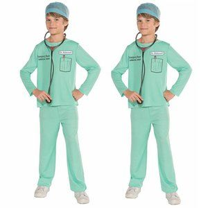 lot of 2 Childs E.R. Doctor Costumes Sz Sm4/6 NIP